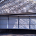 Image of a garage door that won't shut