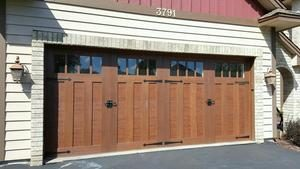 Image of new garage door fitted by AA Garage Door Mn